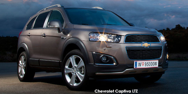 Chevrolet Captiva 22d Lt Specs In South Africa Cars