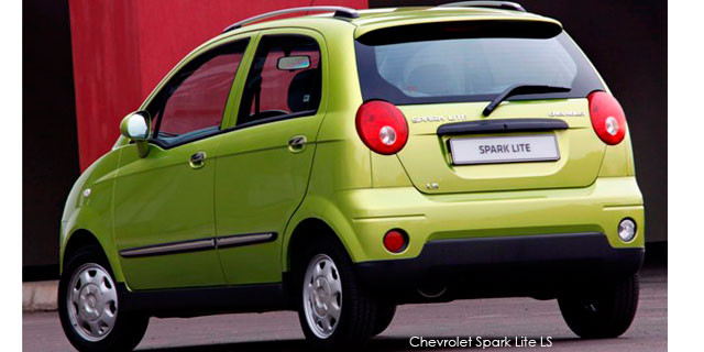 Chevrolet Spark Lite 1 0 Ls Specs In South Africa
