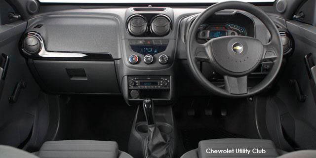Chevrolet Utility 1 3D Club Specs in South Africa - Cars co za