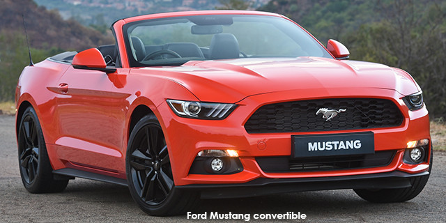 Ford Mustang   Gt Convertible Auto_