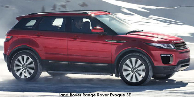 0438145d0 Land Rover Range Rover Evoque SE SD4 Specs in South Africa - Cars.co.za