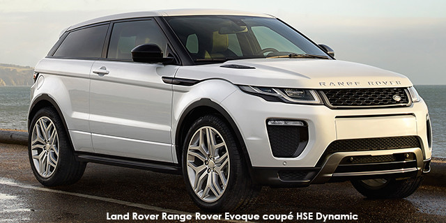 a72bfb7a2 Land Rover Range Rover Evoque coupe HSE Dynamic SD4 Specs in South ...