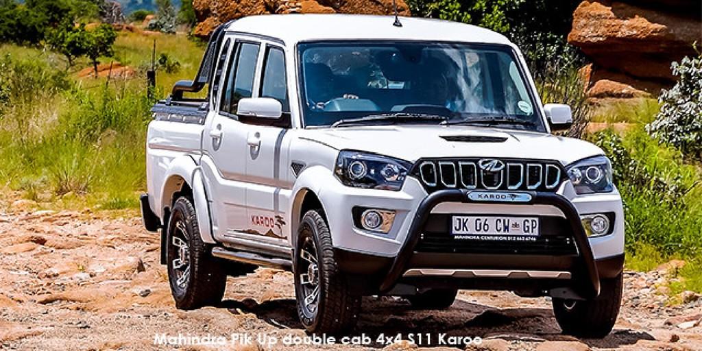 Mahindra Pik Up 2.2CRDe double cab S11 Karoo_1