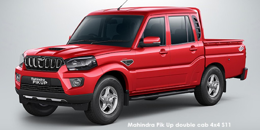 Mahindra Pik Up 2.2CRDe double cab S11_1