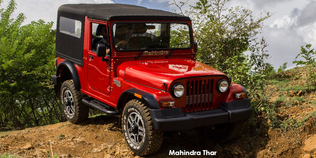New Mahindra Thar Specs & Prices in South Africa - Cars co za