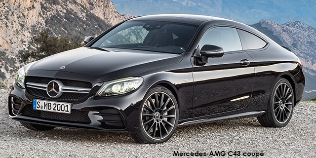 mercedes-amg c-class c43 coupe 4matic specs in south africa - cars.co.za