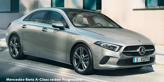 Mercedes-Benz A-Class A200 sedan Progressive Specs in South Africa