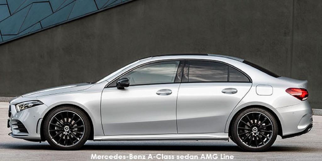 Mercedes-Benz A-Class A200 sedan AMG Line Specs in South