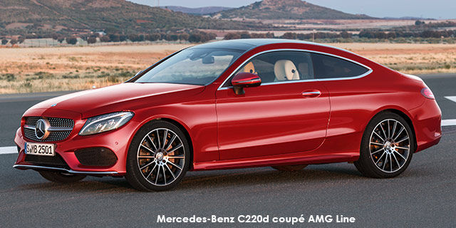 Mercedes Benz C Class C220d Coupe Amg Line Specs In South Africa