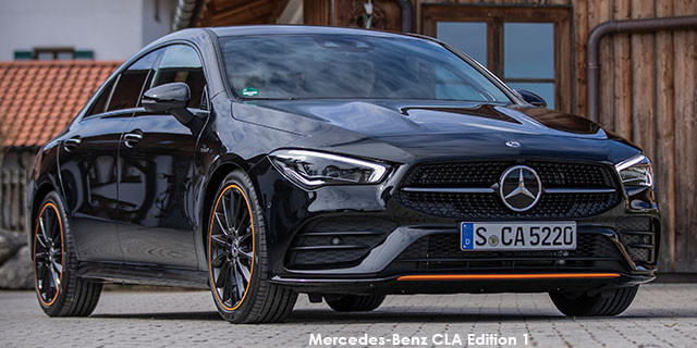 Mercedes-Benz CLA CLA200 Edition 1 Specs in South Africa ...