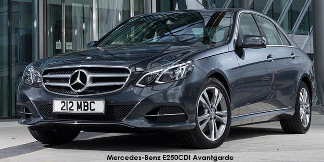 Mercedes-Benz E-Class E250 Avantgarde_1