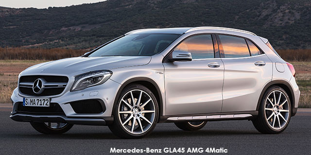 Mercedes-Benz GLA GLA45 AMG 4Matic_1