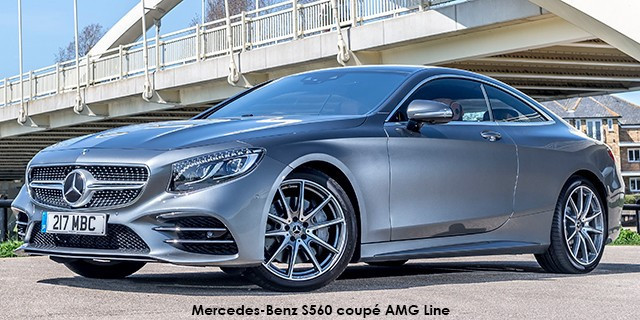 Mercedes-Benz S-Class S560 coupe AMG Line_1