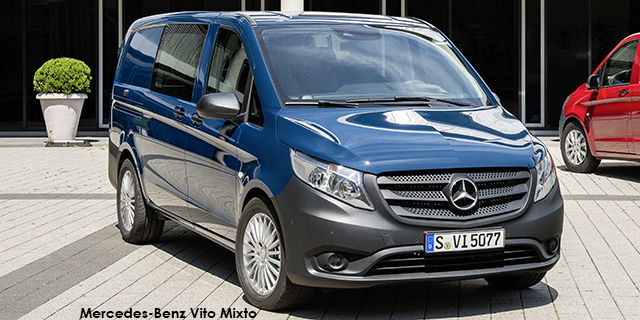 mercedes-benz vito 116 cdi mixto crewcab auto specs in south africa
