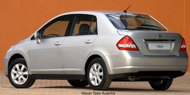 Nissan tiida specifications