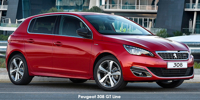 peugeot 308 1.2t gt line specs in south africa - cars.co.za
