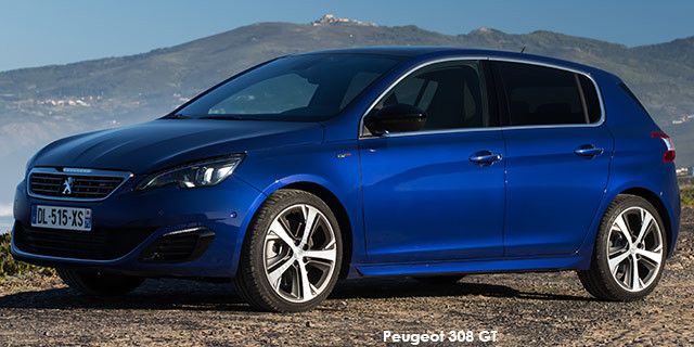 peugeot 308 1.6t gt specs in south africa - cars.co.za