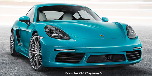 Porsche 718 Cayman 718 Cayman S auto_1