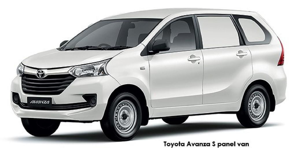 Toyota Avanza 1.3 S panel van_1