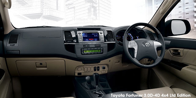 toyota fortuner 3 0d-4d ltd edition specs in south africa