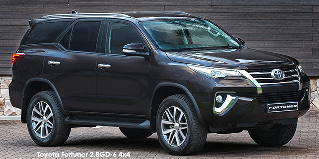 Toyota Fortuner 2 8GD-6 Specs in South Africa - Cars co za