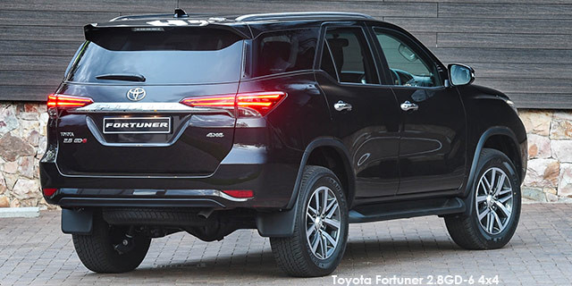 Toyota Fortuner 2 8GD-6 auto Specs in South Africa - Cars co za