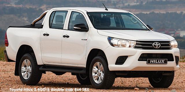 Toyota Hilux 2.4GD-6 double cab 4x4 SRX auto_1
