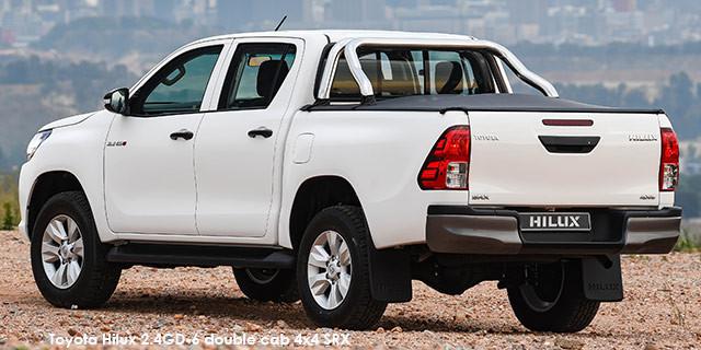 Toyota Hilux 2.4GD-6 double cab 4x4 SRX auto_2