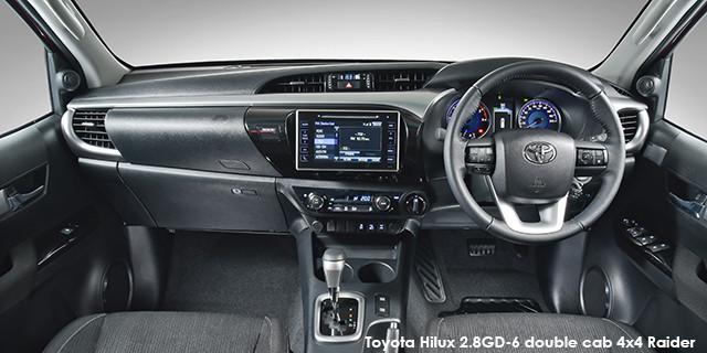 Toyota Hilux 2.8GD-6 double cab 4x4 Raider auto_3