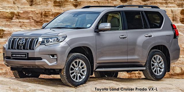 Toyota Land Cruiser Prado 3 0DT TX Specs in South Africa - Cars co za