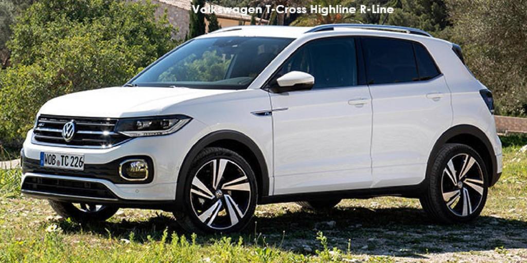 Volkswagen T-Cross 1.0TSI 70kW Comfortline