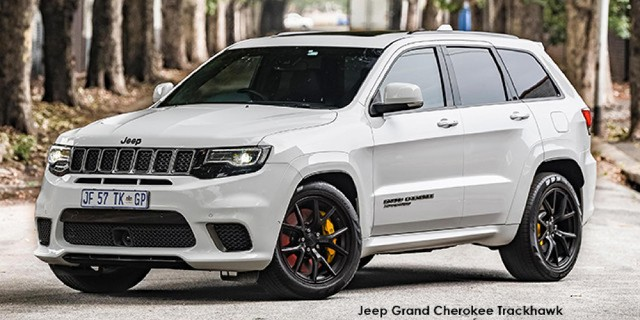 New Jeep Grand Cherokee Trackhawk Cars For Sale In South Africa