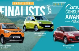 #CarsAwards - Best Entry Level Cars in SA
