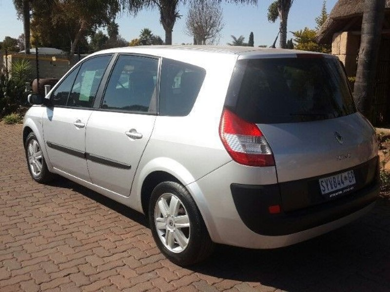 used renault grand scenic ii expression 2 0 for sale in gauteng id 1114084. Black Bedroom Furniture Sets. Home Design Ideas