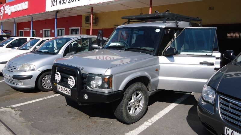 used land rover discovery gs td5 a t for sale in western cape id 1157480. Black Bedroom Furniture Sets. Home Design Ideas