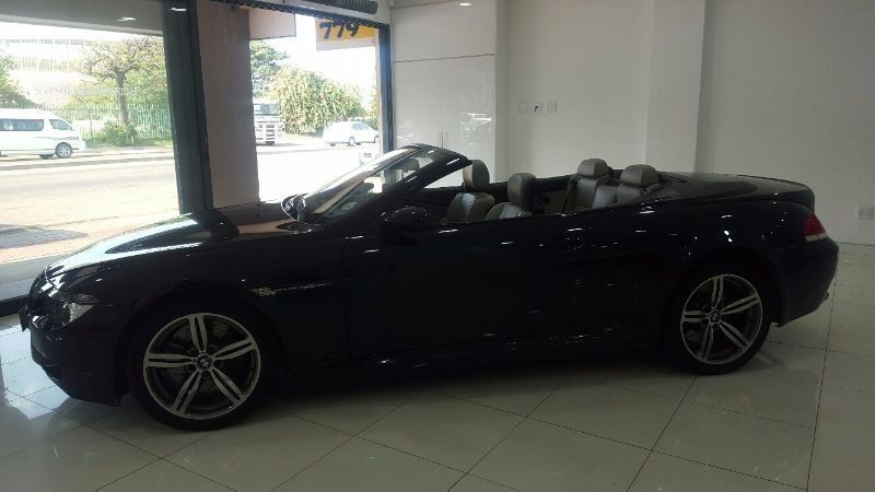 used bmw m6 convertible e64 for sale in kwazulu natal id 1167292. Black Bedroom Furniture Sets. Home Design Ideas
