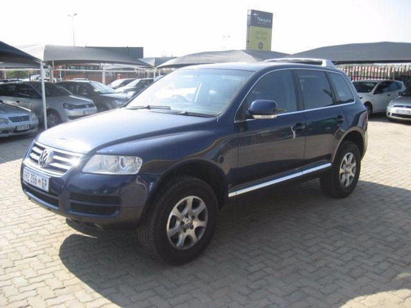 used volkswagen touareg 4 2 v8 tip for sale in gauteng id 1181079. Black Bedroom Furniture Sets. Home Design Ideas