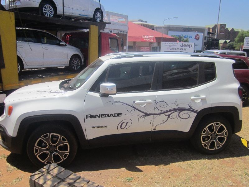 used jeep renegade 1 4 tjet ltd for sale in gauteng cars. Black Bedroom Furniture Sets. Home Design Ideas