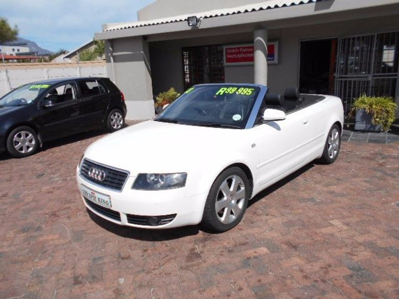 used audi a4 3 0 cabriolet multitronic for sale in western cape id 1234451. Black Bedroom Furniture Sets. Home Design Ideas