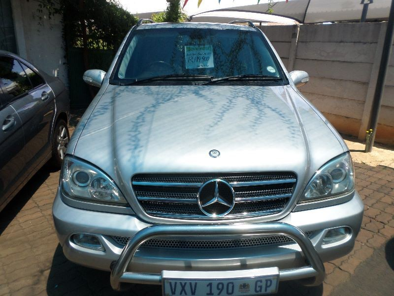 used mercedes benz m class ml 500 f l for sale in gauteng. Black Bedroom Furniture Sets. Home Design Ideas
