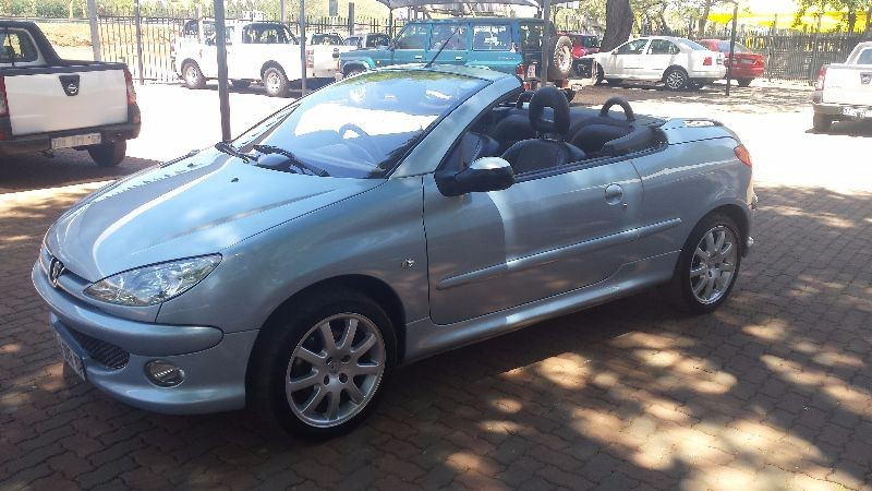 Used peugeot 206 2 0 coupe cabriolet for sale in gauteng id 1240530 - Peugeot 206 coupe cabriolet review ...