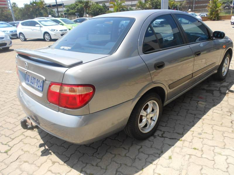 used nissan almera 1 6 luxury a t h03 for sale in kwazulu natal id 1252081. Black Bedroom Furniture Sets. Home Design Ideas