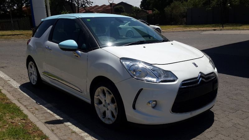 used citroen ds3 155 thp sport for sale in gauteng id 1252197. Black Bedroom Furniture Sets. Home Design Ideas