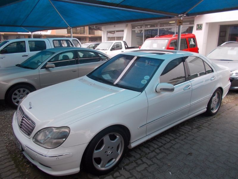 Used mercedes benz s class s 55 amg for sale in western for Mercedes benz 2002 s500 for sale