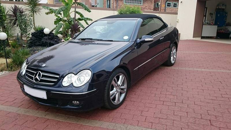 Used mercedes benz clk class clk 500 cabriolet for sale in for Mercedes benz clk for sale