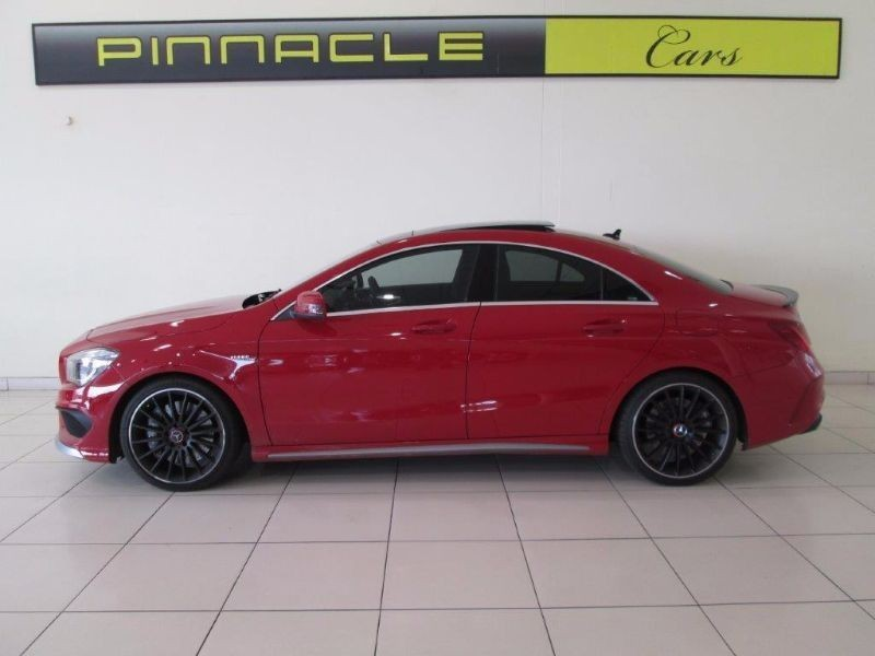 used mercedes benz cla class cla 45 amg 4 matic 7g dct for sale in gauteng id 1278898. Black Bedroom Furniture Sets. Home Design Ideas