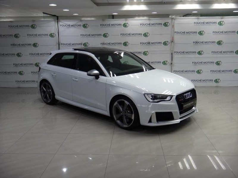 used audi rs3 sportback s tronic for sale in gauteng id 1280642. Black Bedroom Furniture Sets. Home Design Ideas