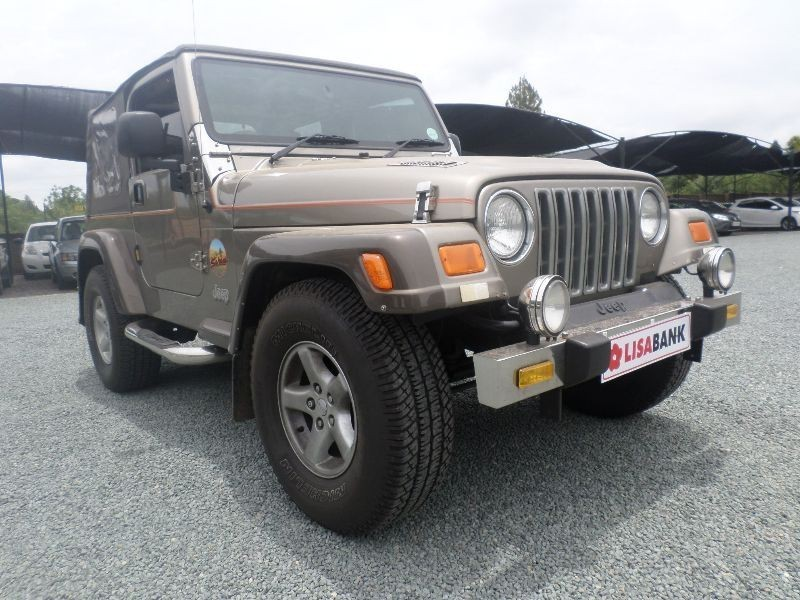 used jeep wrangler sahara 4 0 for sale in gauteng cars. Black Bedroom Furniture Sets. Home Design Ideas