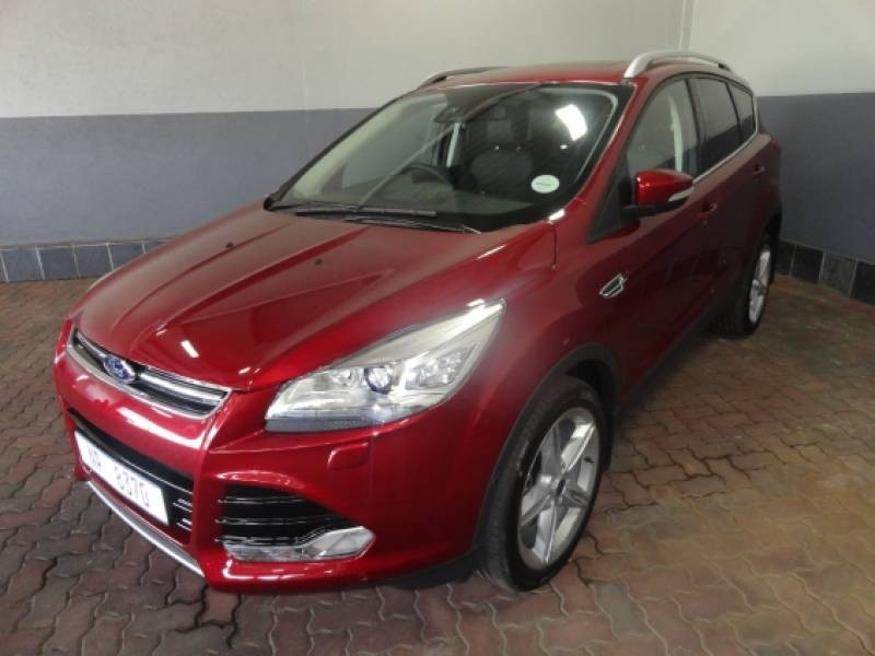 Used Ford Kuga 2 0 Ecoboost Titanium Awd Auto For Sale In