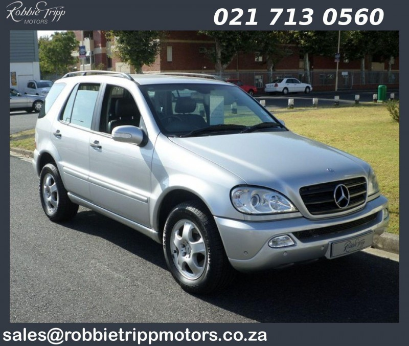 used mercedes benz m class ml 270 cdi f l for sale in western cape id 1329161. Black Bedroom Furniture Sets. Home Design Ideas